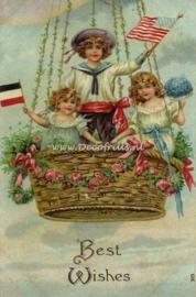Victoriaanse/Nostalgische kaart 185