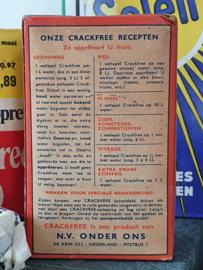 Oude verpakking CRACKFREE Edelstijfsel, de textielvitamine ... ca. 1930-1950