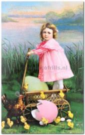 Paaskaart - Easter postcard 76