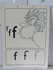 Oude Schoolplaat - Klasseplaat de F van Fluit,   Meulenhoff 1989/1990