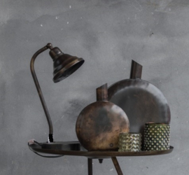 Stoere Industriele TAFELLAMP - BUREAULAMP. Kolony