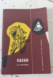 ca.  1960: Receptenboekje CACAO de ZAAN. Recepten van mevr. R. Lotgering-Hillebrand + oude DIAMANT folder