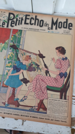 tijdschrift Le Petit ECHO de la MODE: 10 Mei 1936