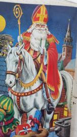Oud Sinterklaasboek met prachtige illustraties