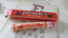 CHEFARINE 4! Complete verpakking: buisje, doosje + bijsluiter