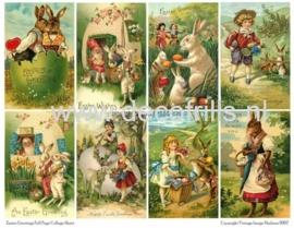 Paaskaart - Easter postcard 28