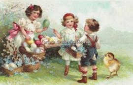 Paaskaart - Easter postcard 16