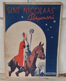SINT NICOLAAS Potpourri. B.H. Smit Amsterdam. Oude spelling