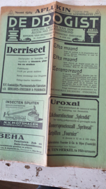 Zeldzaam! DE DROGIST uit 1940. Officieel orgaan v.d. Alg. Ned. Drogistenbond