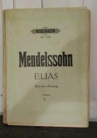 Oude Bladmuziek: MENDELSSOHN ELIAS, 204 (!) pagina's