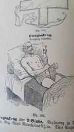 Schitterend antiek boek over o.a. natuurgeneeskunde. Heel veel curieuse afbeeldingen! ca. 1910