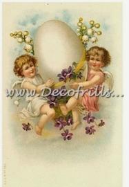 Paaskaart - Easter postcard 5