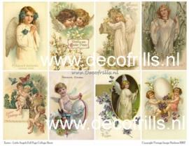 Paaskaart - Easter postcard 17