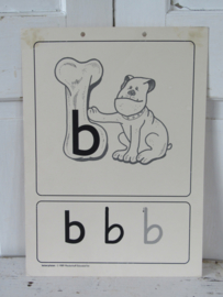 Oude Schoolplaat - Klasseplaat de B van BOT,   Meulenhoff 1989/1990