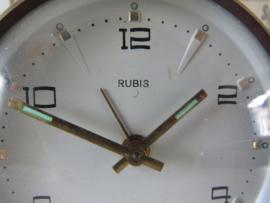 Oud/Vintage wekkertje RUBIS