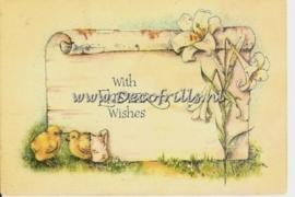 Paaskaart - Easter postcard 35