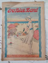 Antiek (reclame)tijdschrift ERA-BLUEBAND MAGAZINE. Augustus 1926.