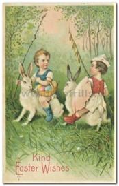 Paaskaart - Easter postcard 83