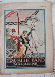 Antiek (reclame)tijdschrift ERA-BLUEBAND MAGAZINE. 1ste Mei 1927