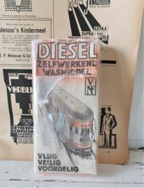 Oude verpakking DIESEL wasmiddel