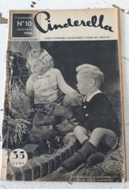 CINDERELLA. tijdschrift voor de vrouw . December 1946. Sinterklaasnummer