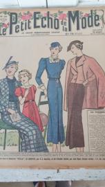 tijdschrift Le Petit ECHO de la MODE: 19 April 1936