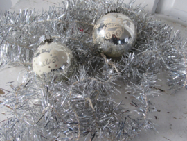 Oude Lametta kerstslinger. ca. 4½ mtr.