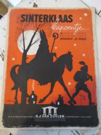 Oud Sinterklaasboek SINTERKLAAS KAPOENTJE. Jos Vranken. ca. 1950-1960