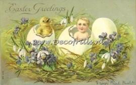 Paaskaart - Easter postcard 34