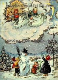 Kerstkaarten Nostalgisch/Victoriaans/Vintage