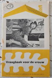 voor 3 SUNIL merkjes: VRAAGBAAK voor de vrouw! Deel 4. 1960