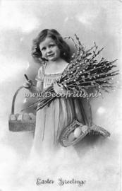 Paaskaart - Easter postcard 56