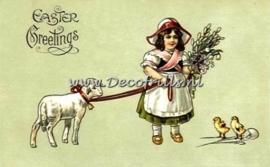 Paaskaart - Easter postcard 19