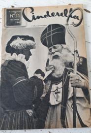 CINDERELLA, tijdschrift voor de vrouw uit 1947. SINTERKLAASNUMMER