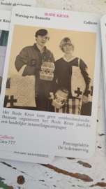 Oud RODE KRUIS kwartet. ca. 1970? Compleet