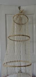 Grote decoratie ZEEFUIK.  katoen/bamboe. Nieuw