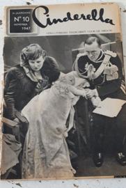 CINDERELLA, tijdschrift voor de vrouw uit 1947. Voorplaat Koningin Juliana
