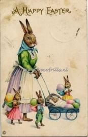 Paaskaart - Easter postcard 52