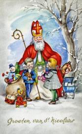 Sinterklaaskaart 29