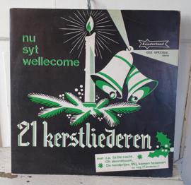 Oude Kerst LP: 21 Kerstliederen. Groot Kinderkoor o.l.v. Gert Naghtegaal