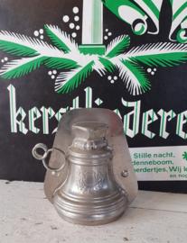 Oude/antieke Dubbele Chocoladevorm Klok - kerstklok. Vormenfabriek Tilburg