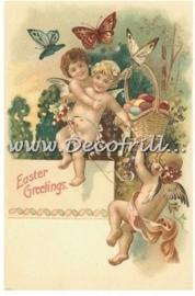 Paaskaart - Easter postcard 21