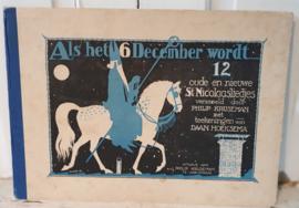 Uit ca. 1920: Als het 6 december wordt ... Philip Kruseman met teekeningen van Daan Hoeksema