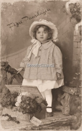 Paaskaart - Easter postcard 71