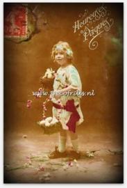 Paaskaart - Easter postcard 63