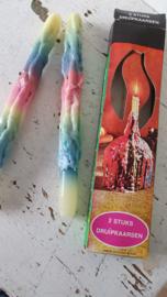 Doos Vintage Druipkaarsen uit de Seventies!