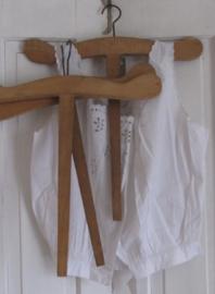 Oude Franse kapstok met lang handvat