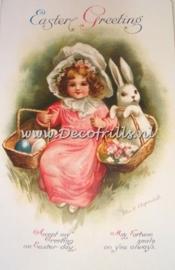 Paaskaart - Easter postcard 14