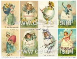 Paaskaart - Easter postcard 25