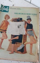 Oude LIBELLE uit 1963: Nr. 26 - 29 juni. Met heel veel oude advertenties!